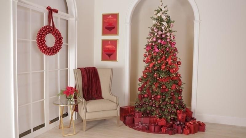 Christmas-tree-decoration-ideas-2018-151 96+ Fabulous Christmas Tree Decoration Ideas 2018