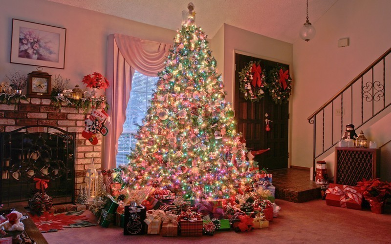 Christmas-tree-decoration-ideas-2018-152 96+ Fabulous Christmas Tree Decoration Ideas 2018