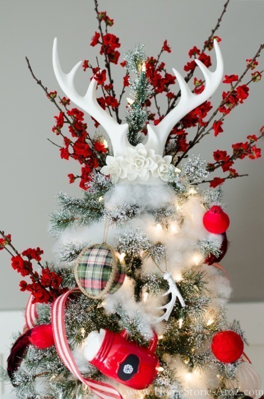 Christmas-tree-decoration-ideas-2018-26 96+ Fabulous Christmas Tree Decoration Ideas 2018