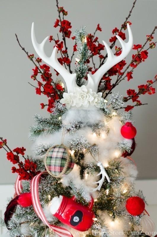 Christmas-tree-decoration-ideas-2018-26 96+ Fabulous Christmas Tree Decoration Ideas 2018