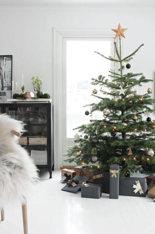 Christmas-tree-decoration-ideas-2018-29 96+ Fabulous Christmas Tree Decoration Ideas 2018