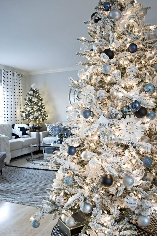 Christmas-tree-decoration-ideas-2018-30 96+ Fabulous Christmas Tree Decoration Ideas 2018