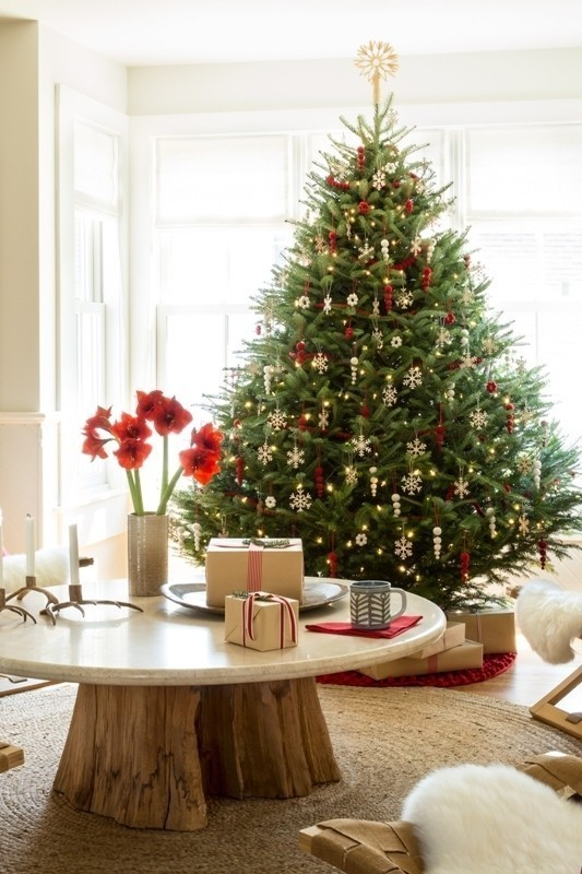 Christmas-tree-decoration-ideas-2018-33 96+ Fabulous Christmas Tree Decoration Ideas 2018