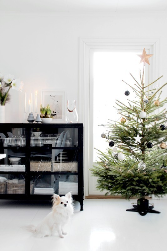 Christmas-tree-decoration-ideas-2018-35 96+ Fabulous Christmas Tree Decoration Ideas 2018