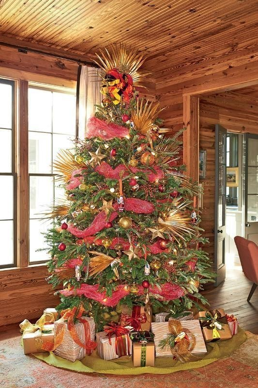 Christmas-tree-decoration-ideas-2018-38 96+ Fabulous Christmas Tree Decoration Ideas 2018