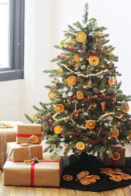 Christmas-tree-decoration-ideas-2018-40 96+ Fabulous Christmas Tree Decoration Ideas 2018