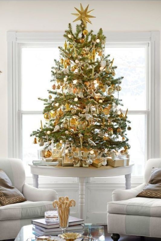 Christmas-tree-decoration-ideas-2018-41 96+ Fabulous Christmas Tree Decoration Ideas 2018
