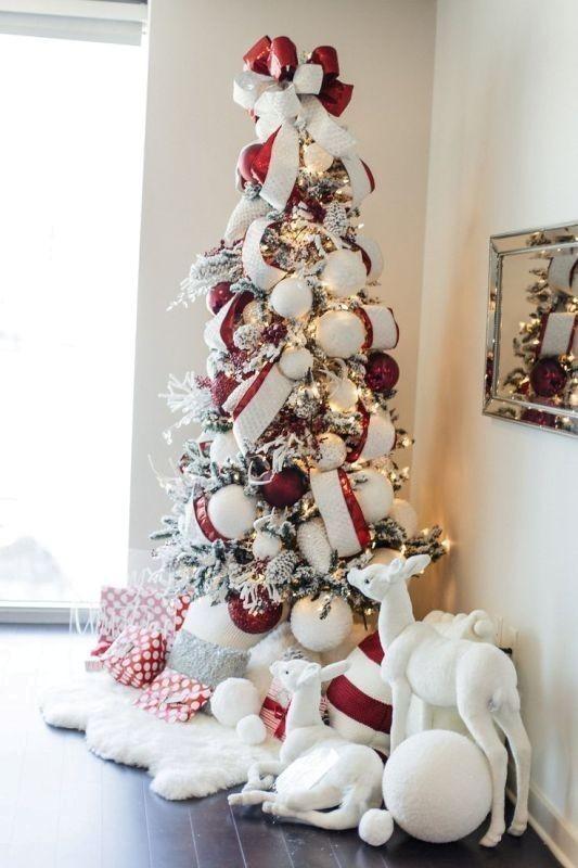Christmas-tree-decoration-ideas-2018-43 96+ Fabulous Christmas Tree Decoration Ideas 2018