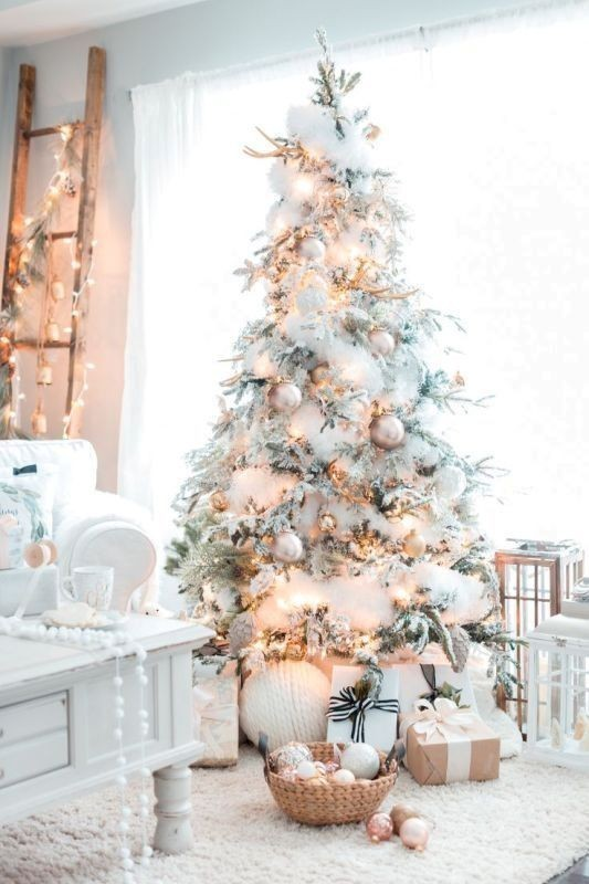 Christmas-tree-decoration-ideas-2018-44 96+ Fabulous Christmas Tree Decoration Ideas 2018