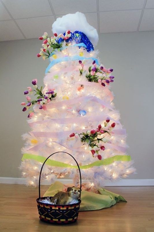 Christmas-tree-decoration-ideas-2018-46 96+ Fabulous Christmas Tree Decoration Ideas 2018