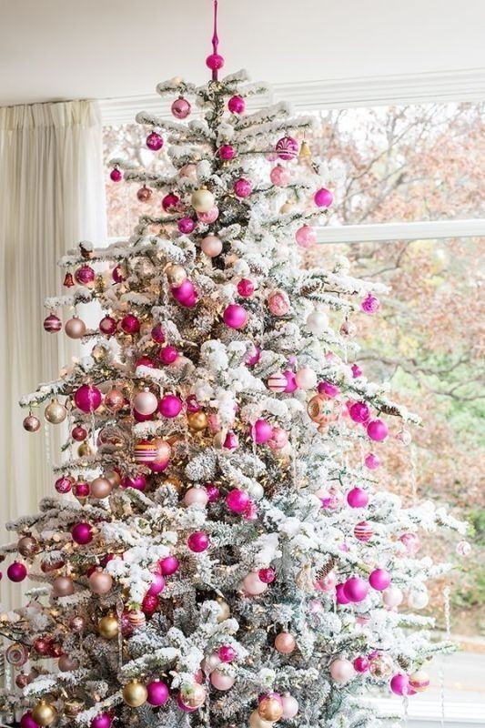 Christmas-tree-decoration-ideas-2018-48 96+ Fabulous Christmas Tree Decoration Ideas 2018