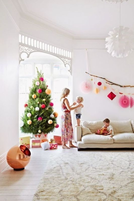 Christmas-tree-decoration-ideas-2018-49 96+ Fabulous Christmas Tree Decoration Ideas 2018