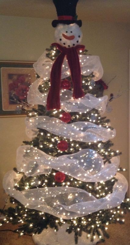 Christmas-tree-decoration-ideas-2018-5 96+ Fabulous Christmas Tree Decoration Ideas 2018
