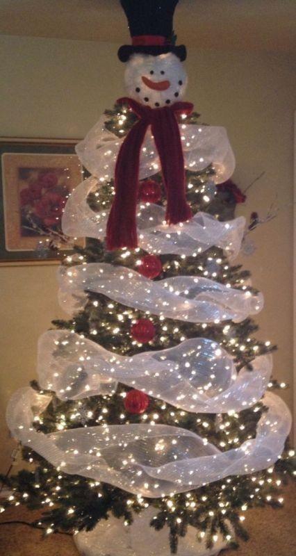 Christmas-tree-decoration-ideas-2018-5 96+ Fabulous Christmas Tree Decoration Ideas 2018