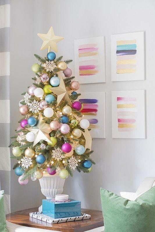 Christmas-tree-decoration-ideas-2018-50 96+ Fabulous Christmas Tree Decoration Ideas 2020