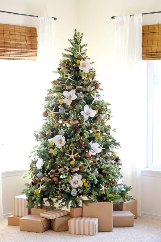 Christmas-tree-decoration-ideas-2018-51 96+ Fabulous Christmas Tree Decoration Ideas 2018