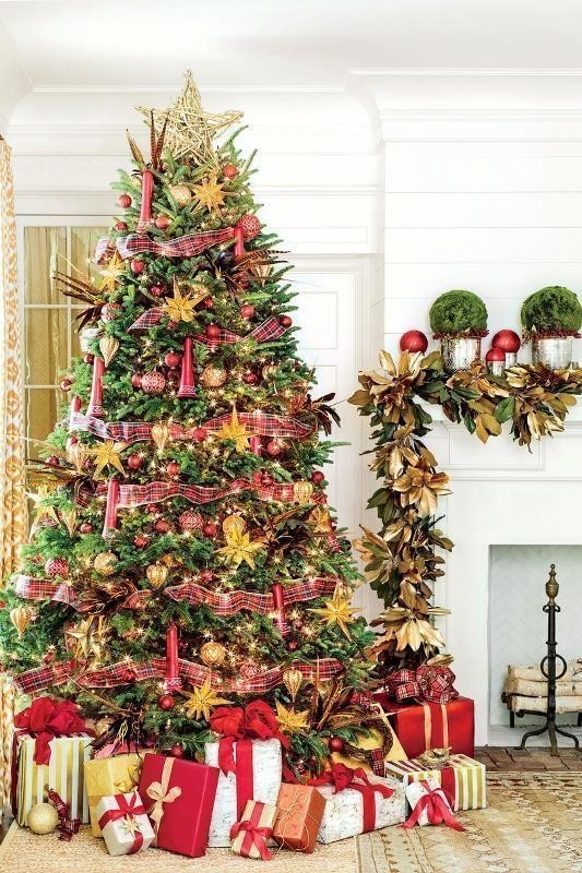 Christmas-tree-decoration-ideas-2018-53 96+ Fabulous Christmas Tree Decoration Ideas 2018
