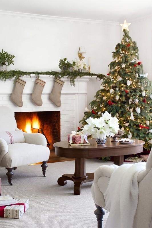 Christmas-tree-decoration-ideas-2018-54 96+ Fabulous Christmas Tree Decoration Ideas 2018