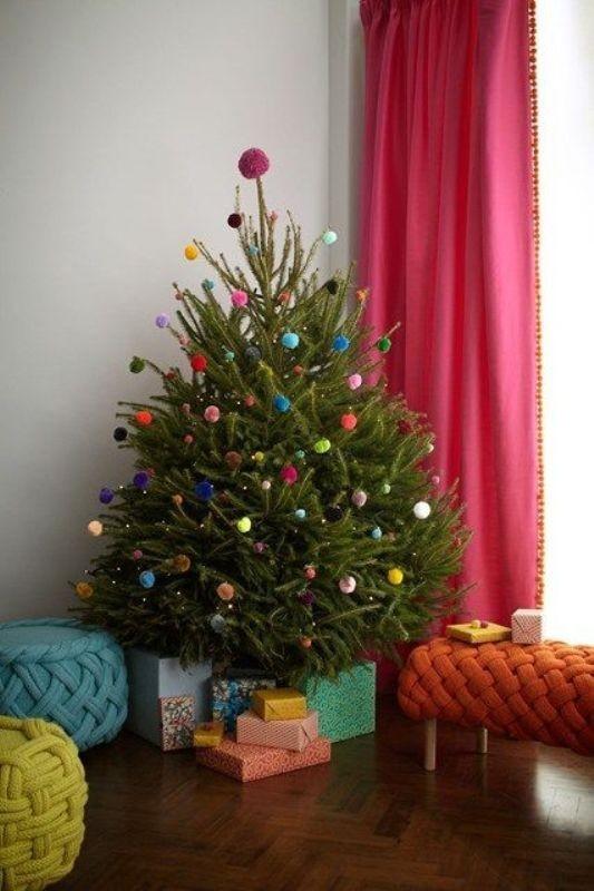 Christmas-tree-decoration-ideas-2018-55 96+ Fabulous Christmas Tree Decoration Ideas 2018