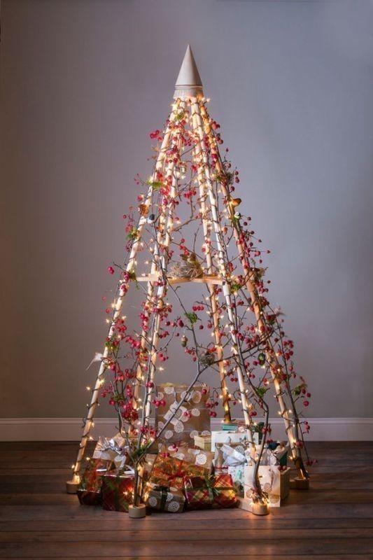 Christmas-tree-decoration-ideas-2018-56 96+ Fabulous Christmas Tree Decoration Ideas 2018