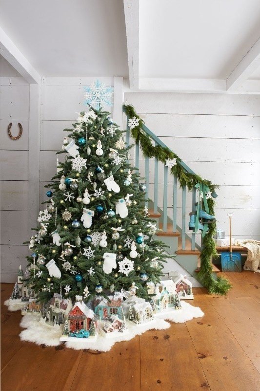 Christmas-tree-decoration-ideas-2018-57 96+ Fabulous Christmas Tree Decoration Ideas 2018