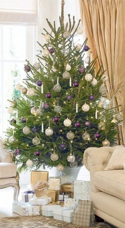 Christmas-tree-decoration-ideas-2018-6 96+ Fabulous Christmas Tree Decoration Ideas 2018