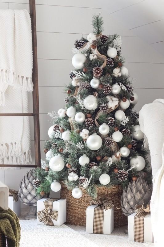 Christmas-tree-decoration-ideas-2018-60 96+ Fabulous Christmas Tree Decoration Ideas 2020