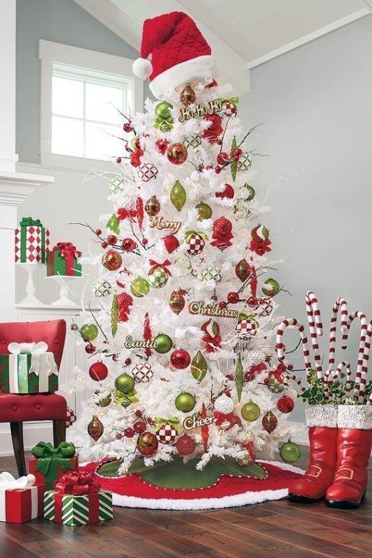 Christmas-tree-decoration-ideas-2018-63 96+ Fabulous Christmas Tree Decoration Ideas 2018