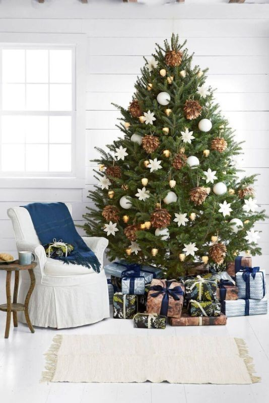 Christmas-tree-decoration-ideas-2018-65 96+ Fabulous Christmas Tree Decoration Ideas 2018