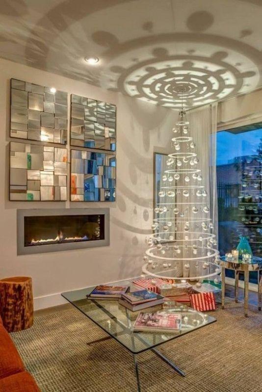 Christmas-tree-decoration-ideas-2018-66 96+ Fabulous Christmas Tree Decoration Ideas 2018