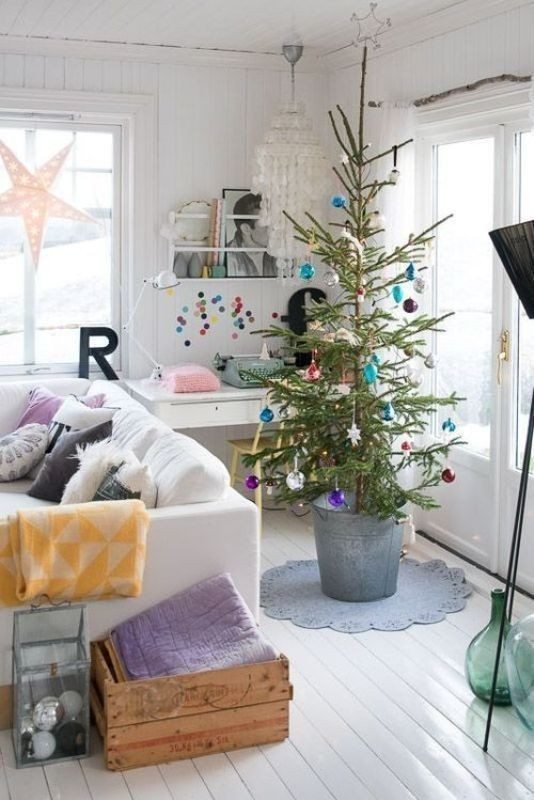 Christmas-tree-decoration-ideas-2018-67 96+ Fabulous Christmas Tree Decoration Ideas 2018