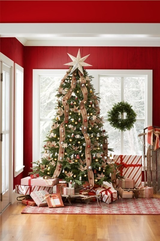 Christmas-tree-decoration-ideas-2018-68 96+ Fabulous Christmas Tree Decoration Ideas 2018