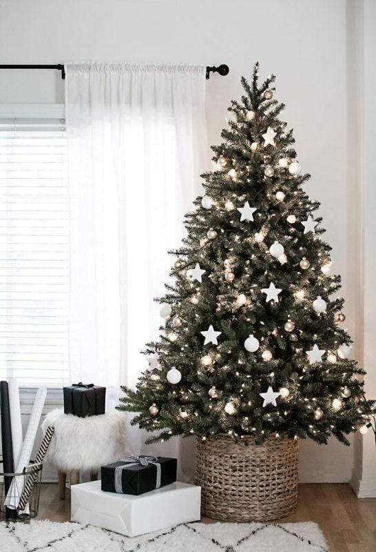 Christmas-tree-decoration-ideas-2018-71 96+ Fabulous Christmas Tree Decoration Ideas 2018