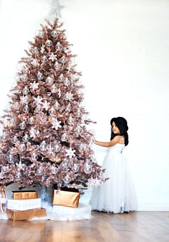 Christmas-tree-decoration-ideas-2018-73 96+ Fabulous Christmas Tree Decoration Ideas 2018