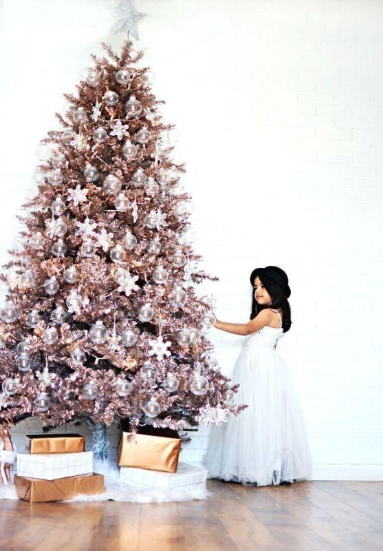 Christmas-tree-decoration-ideas-2018-73 96+ Fabulous Christmas Tree Decoration Ideas 2020