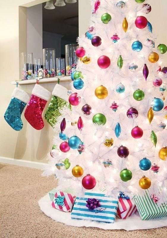 Christmas-tree-decoration-ideas-2018-74 96+ Fabulous Christmas Tree Decoration Ideas 2018