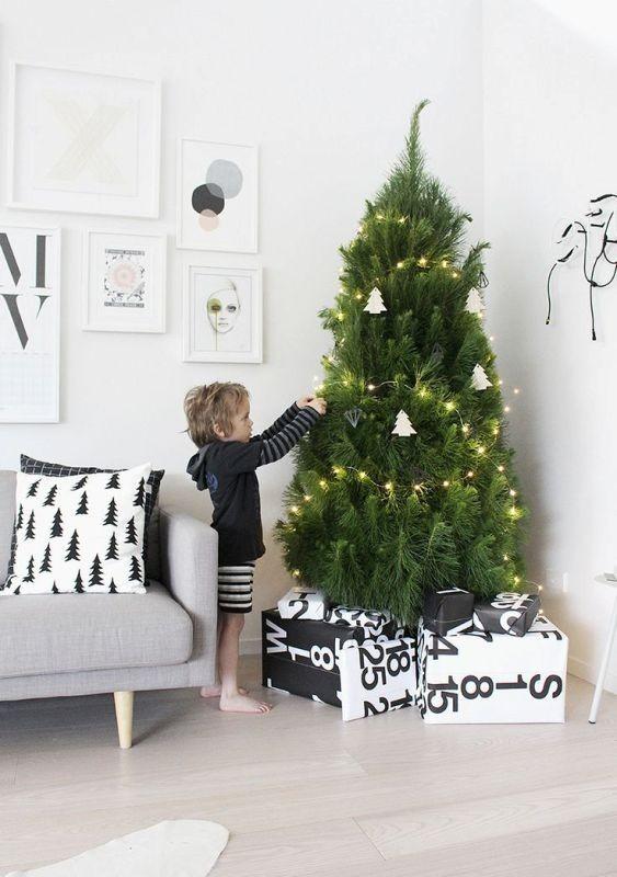 Christmas-tree-decoration-ideas-2018-75 96+ Fabulous Christmas Tree Decoration Ideas 2018