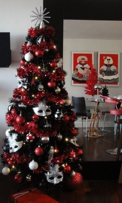 Christmas-tree-decoration-ideas-2018-8 96+ Fabulous Christmas Tree Decoration Ideas 2018