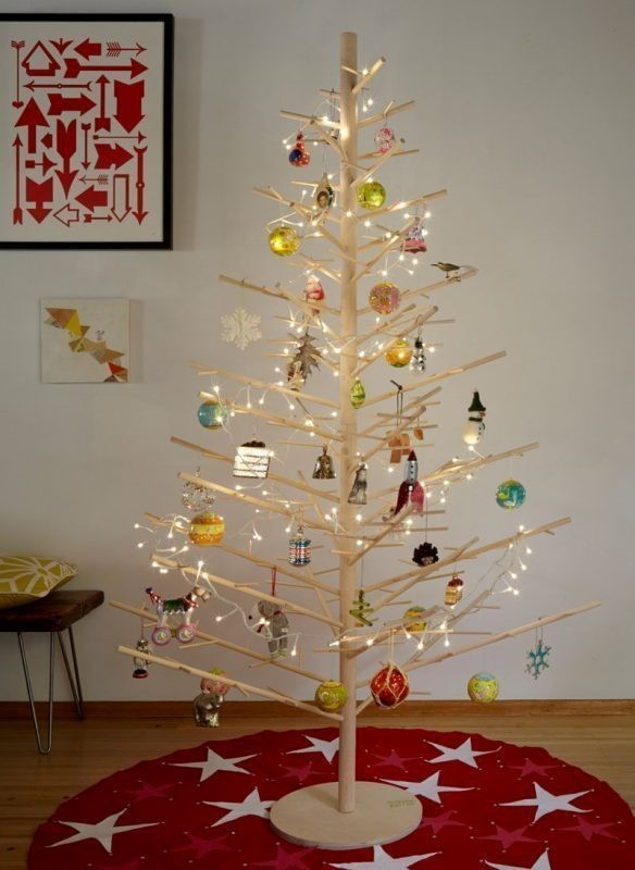 Christmas-tree-decoration-ideas-2018-82 96+ Fabulous Christmas Tree Decoration Ideas 2018