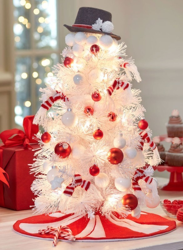 Christmas-tree-decoration-ideas-2018-84 96+ Fabulous Christmas Tree Decoration Ideas 2018