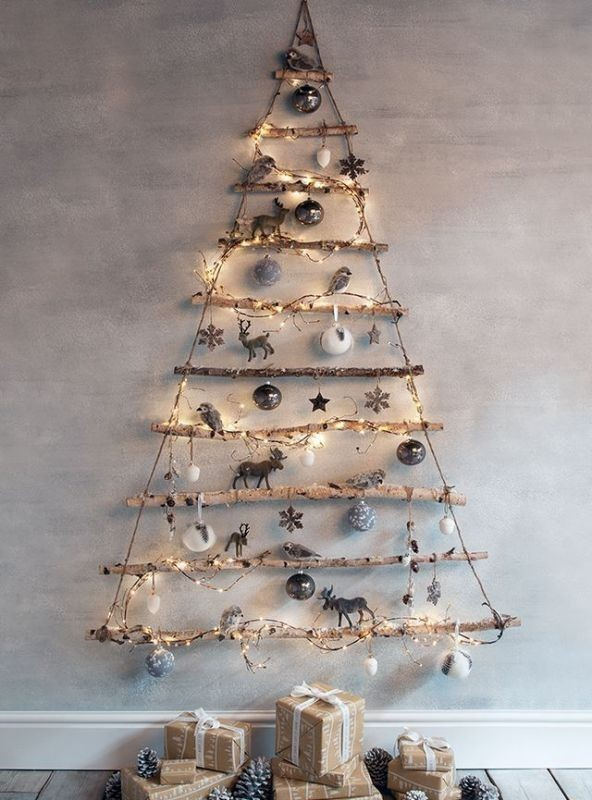 Christmas-tree-decoration-ideas-2018-85 96+ Fabulous Christmas Tree Decoration Ideas 2018