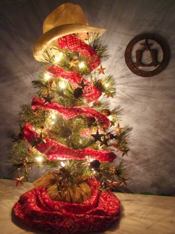 Christmas-tree-decoration-ideas-2018-88 96+ Fabulous Christmas Tree Decoration Ideas 2018