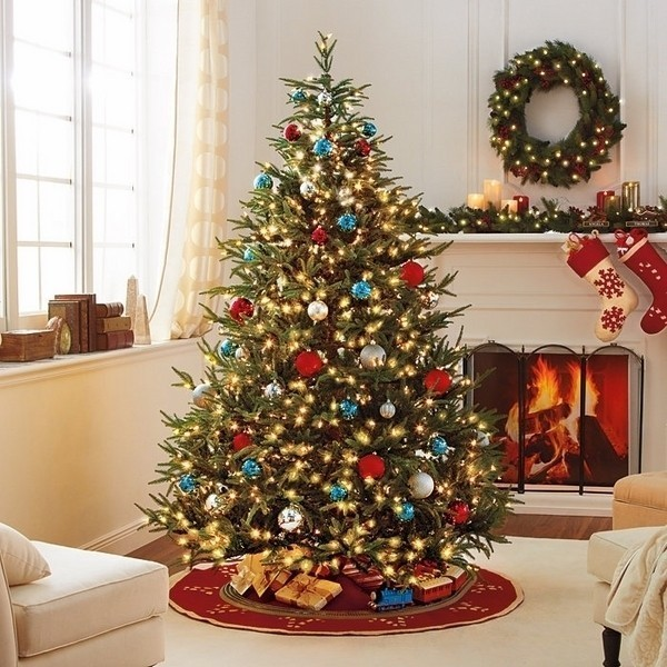Christmas-tree-decoration-ideas-2018-91 96+ Fabulous Christmas Tree Decoration Ideas 2018
