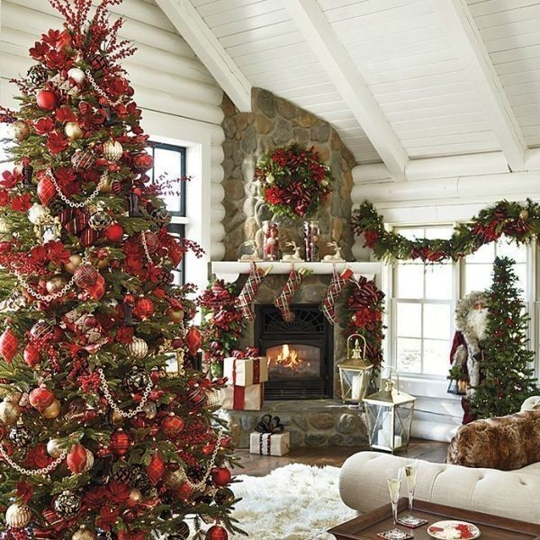 Christmas-tree-decoration-ideas-2018-94 96+ Fabulous Christmas Tree Decoration Ideas 2018