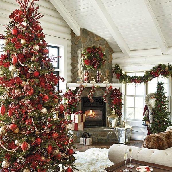 Christmas-tree-decoration-ideas-2018-94 96+ Fabulous Christmas Tree Decoration Ideas 2018