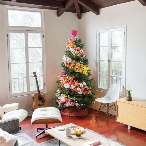Christmas-tree-decoration-ideas-2018-95 96+ Fabulous Christmas Tree Decoration Ideas 2018