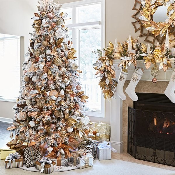 Christmas-tree-decoration-ideas-2018-98 96+ Fabulous Christmas Tree Decoration Ideas 2018