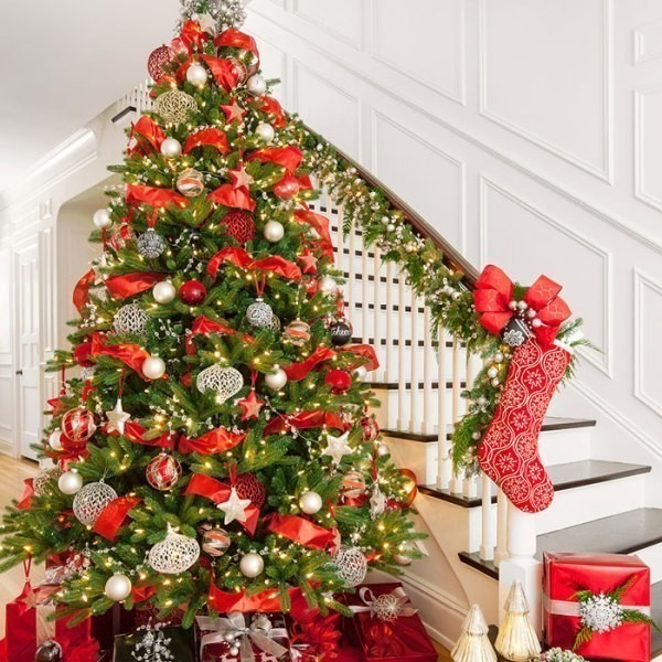 Christmas-tree-decoration-ideas-2018-99 96+ Fabulous Christmas Tree Decoration Ideas 2018
