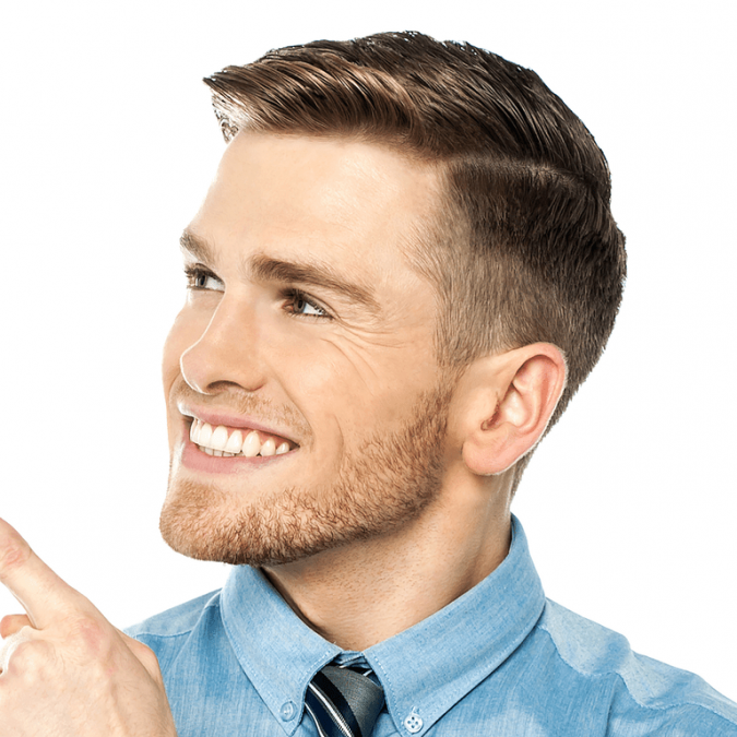 Classic-Fade-classic-taper-haircut-men-675x675 6 Fashionable Hairstyles Every Man in His 30's Should Nail