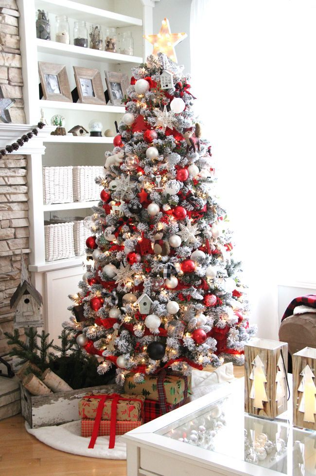 Classic-white-christmas-tree Top 10 Christmas Decoration Ideas & Trends 2019/2020